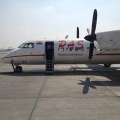 Photo taken at Petroleum Air Servecis Abron by Hazem A. on 7/9/2012