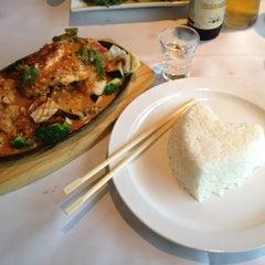 Photo taken at Bangkok Sushi by JoeDu on 8/3/2012