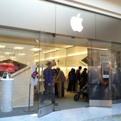 Photo taken at Apple Store, Stonestown by Christina H. on 4/6/2012