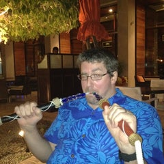 Photo taken at Chamas Churrascaria & Bar مطعم شاماس البرازيلي by Dawn M. on 3/9/2012