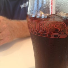 Photo taken at Ruby's Diner by megan h. on 8/14/2012