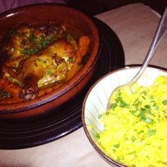 Photo taken at Kous Kous Moroccan Bistro by Tresha on 8/9/2012