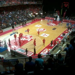 Photo taken at Lotto Arena by Karel V. on 4/9/2012