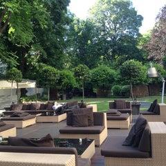 Photo taken at Bulgari Hotels & Resorts Milano by Mara P. on 5/23/2012