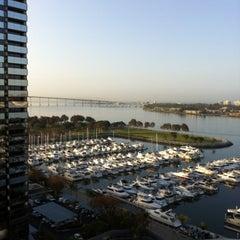 Photo taken at San Diego Marriott Marquis & Marina by Scott D. on 4/6/2012