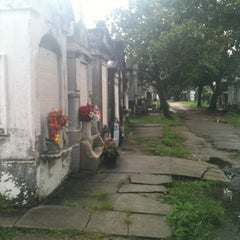 Photo taken at Lafayette Cemetery No. 1 by Sylvia C. on 8/23/2012