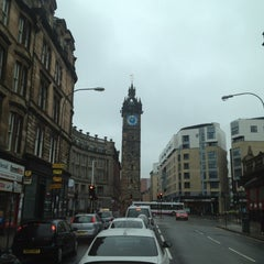 Photo taken at Glasgow Cross by Rory O. on 6/27/2012