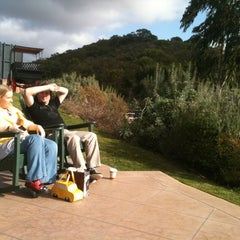 Photo taken at Rocking Chairs in the Grand lawn by Geo s. on 2/12/2012