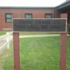 Photo taken at U.S Army Reserve Center 630th Transportation Company by Meghan M. on 8/11/2012