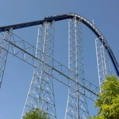 Photo taken at Millennium Force by David L. on 5/20/2012