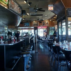 Photo taken at Deluxe Diner by Jennifer H. on 6/6/2012