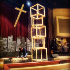 Photo taken at First Christian Church Owasso by Goldie W. on 3/25/2012
