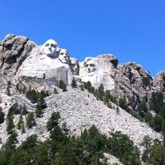 Photo taken at Mount Rushmore National Memorial by John D. on 8/24/2012