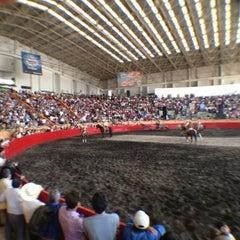 Photo taken at Lienzo Charro by Fernando L. on 3/14/2012