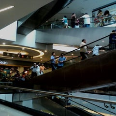 Photo taken at Open Plaza Angamos by Natalie R. on 4/8/2012