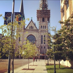 Photo taken at Marquette University by Father M. on 8/14/2012
