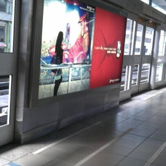 Photo taken at 捷運大安站 MRT Daan Station by Birgit L. on 9/2/2012
