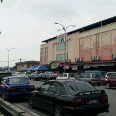 Photo taken at Pasaraya Kini by Ska A. on 8/4/2012