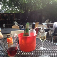 Photo taken at Bacchanal Wine by Kelly on 7/28/2012