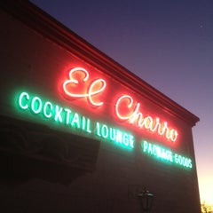 Photo taken at El Charro Restaurant and Cocktail Lounge by Mark D. on 2/25/2012
