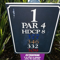 Photo taken at Pebble Beach Golf Links by Holly B. on 4/1/2012