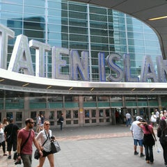 Photo taken at Staten Island Ferry - Whitehall Terminal by Constance R. on 9/6/2012