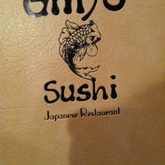 Photo taken at Ginjo Sushi by Christine M. on 8/28/2012