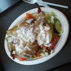 Photo taken at Salad House by Szymon C. on 5/16/2012