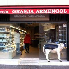Photo taken at Granja Armengol by Sarah M. on 2/18/2012