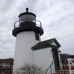 Photo taken at Lighthouse Point by Jon D. on 3/4/2012