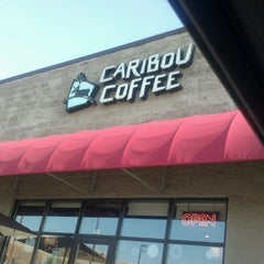 Photo taken at Caribou Coffee by Yvonne J. on 6/30/2012