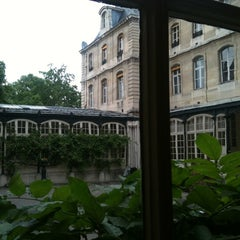Photo taken at École des Mines by Marc P. on 6/6/2012