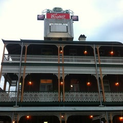 Photo taken at Story Bridge Hotel by Spatial Media on 7/14/2012