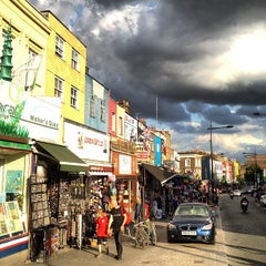 Photo taken at Camden Town by Bryan H. on 8/20/2012