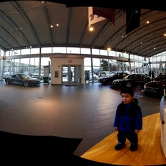 Photo taken at Barrier Audi by C.Y. L. on 2/19/2012