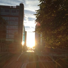 Photo taken at Sheldon Square by Nicole M. on 9/8/2012