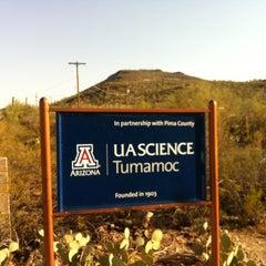 Photo taken at Tumamoc Hill by W. Patrick B. on 6/23/2012