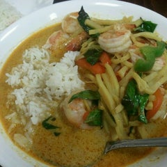 Photo taken at Pam Real Thai by Denise M. on 4/15/2012