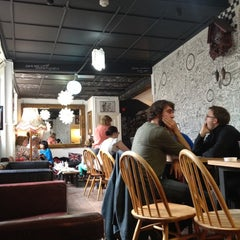 Photo taken at Brick Lane Coffee by Najube on 7/15/2012