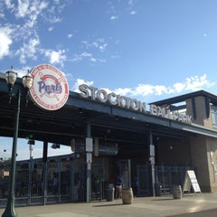 Photo taken at Banner Island Ballpark by Christopher P. on 8/13/2012