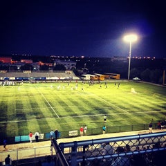 Photo taken at South County Regional Football Stadium by Dieter K. on 5/5/2012