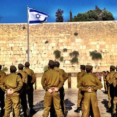 Photo taken at Western Wall (הכותל) by Dini on 8/28/2012