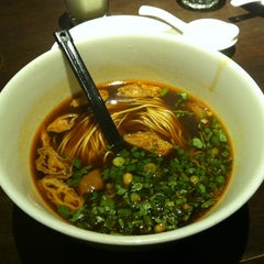 Photo taken at Imperial Treasure La Mian Xiao Long Bao by Ray G. on 3/15/2012