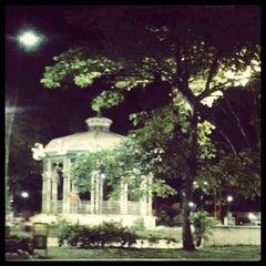 Photo taken at Praça Batista Campos by Meg V. on 8/21/2012