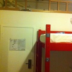 Photo taken at Peking Youth Hostel by Wan Farhana on 4/17/2012