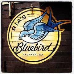 Photo taken at Ria's Bluebird by 🔴W⚪️B🔵L on 5/6/2012