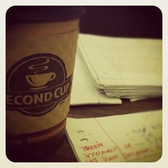 Photo taken at Second Cup by Lindsay_NYC on 3/21/2012