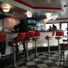 Photo taken at Jake's Burgers & Billiards by Marco P. on 3/1/2012