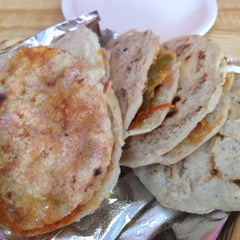 Photo taken at Gorditas Doña Julia by Ashley K. on 8/31/2012
