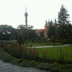 Photo taken at Petřínské zahrady | Petřín Gardens by Petr H. on 6/18/2012